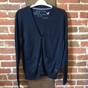 Dark blue American Eagle cardigan